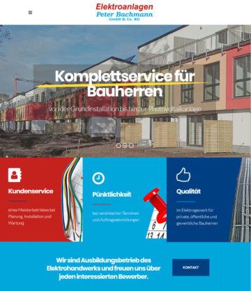 Webseite fürs Handwerk