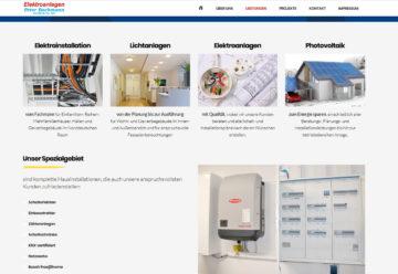 Internetseiten für Handwerker mit unterschiedlichsten Leistungen