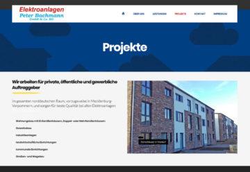 Internetseiten für Handwerker mit unterschiedlichsten Projekten