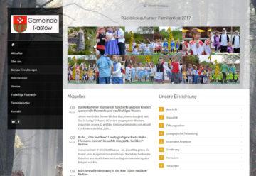 Webdesign für einen Kindergarten