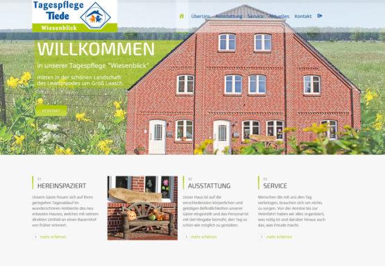 Webseite Tagespflege
