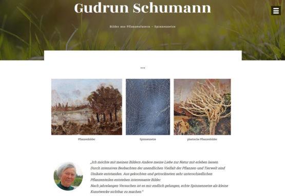 Webseite für Künstler
