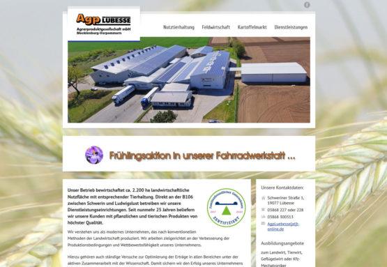Webseite als Firmenprofil